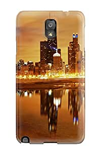 Theodore J. Smith's Shop Best High Quality Shock Absorbing Case For Galaxy Note 3-chicago Nights