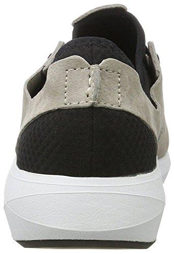 Boxfresh Ceza Grigio Nero Uomo Camoscio Sneaker Scarpe