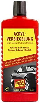 Number One No1001 Acrylversiegelung Mit Nano Technologie 500ml Auto