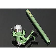 1M H3 ultralight strong and hard mini Portable Pocket carbon fiberglass Pen Fishing Rod Pole