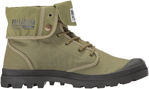Mens Palladio Baggy Army Trng Camp Chukka Boot Oliva Drab / Beluga