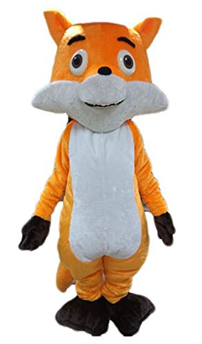 Adult Size Lovely Fox Mascot Costume for Sports Team Mascots Custom Made College Mascot Design]()