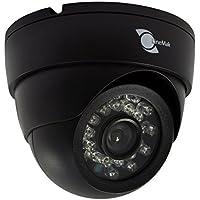 LineMak Plastic IR Dome camera, 1/3 HD Digital Sensor, 900TVL, 6mm lens, 24pcs LEDs, 65ft IR night vision, IR CUT Filter for DVR or surveillance systems.