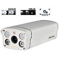HDView 2.4MP 1080P HD-TVI WDR 6-22mm Motorized Lens, Control Over Coax Cable via DVR, HD Megapixel License Plate SONY Sensor Camera Outdoor Turbo Platinum Bullet
