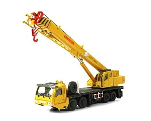 1:55 Scale Die cast Mega Lifter Crane Construction Vehicle Car Model Toys Hobbies classic Mini Car Toys xff