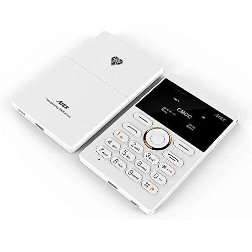 Ultra Thin Bolsillo teléfono Qual Banda Baja radiación AIEK ...