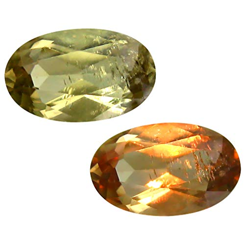 Deluxe Gems 1.83 ct Oval Cut (10 x 6 mm) Unheated/Untreated Turkish Color Change Diaspore Natural Loose Gemstone