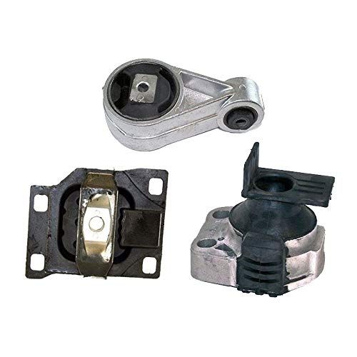 K2107 Fits 2005-2007 Ford Focus 2.0L MANUAL Engine Motor & Trans Mount Set 3pcs : A5312, A2939, A2986