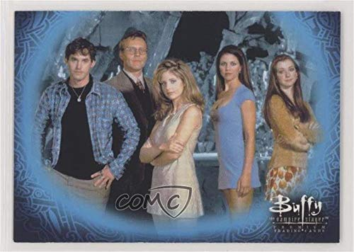 Cast (Trading Card) 1998 Inkworks Buffy the Vampire Slayer: Season 1-2004 Reissue Binder Exclusive #BTVS-1