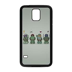 Samsung Galaxy S5 Cell Phone Case Black Ninja Turtles Vector GY9214880