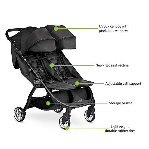 41s2doeuoAL - Baby Jogger City Tour 2 Double Stroller, Seacrest