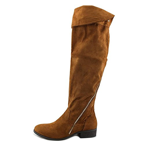 Report Signature Womens Gwyneth Closed Toe Over Knee Fashion Boots, Tan, Size 6