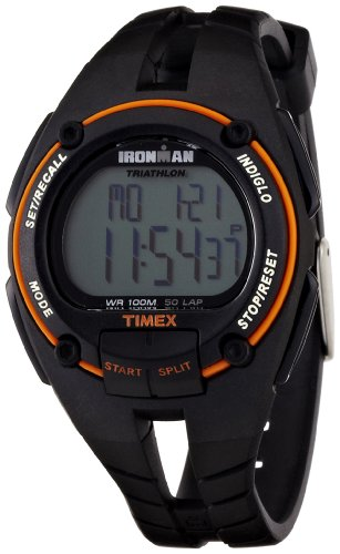 Timex Men's T5K156 Ironman 50-Lap Full-size Resin Strap ()