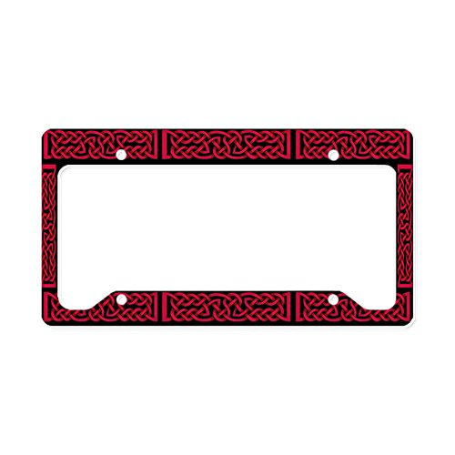 license plate frame celtic knot - 4