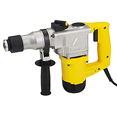 STANLEY STHR272KS 26mm 850-Watt 2 Mode L-Shape SDS-Plus 5Kg Hammer with Kitbox (Yellow and Black) 7