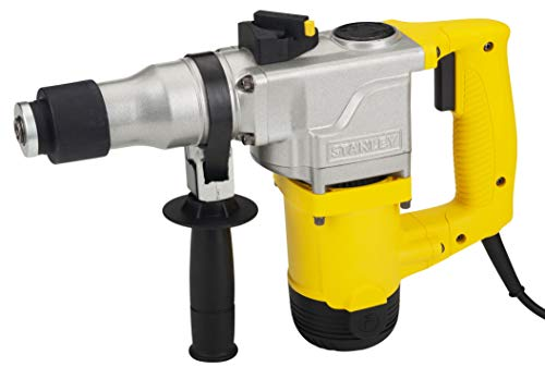 STANLEY STHR272KS 26mm 850-Watt 2 Mode L-Shape SDS-Plus 5Kg Hammer with Kitbox (Yellow and Black) 1