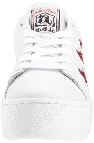 Aske Womens As-søt Sneaker Hvit / Rød ...