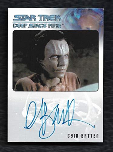 """2018 Rittenhouse Archives Star Trek Deep Space Nine Heroes & Villains Autograph Cyia Batten as Tora Ziyal""""Very Limited"""""""