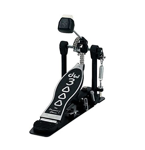 DW Single Bass Drum Pedal - Dual Chain Drive