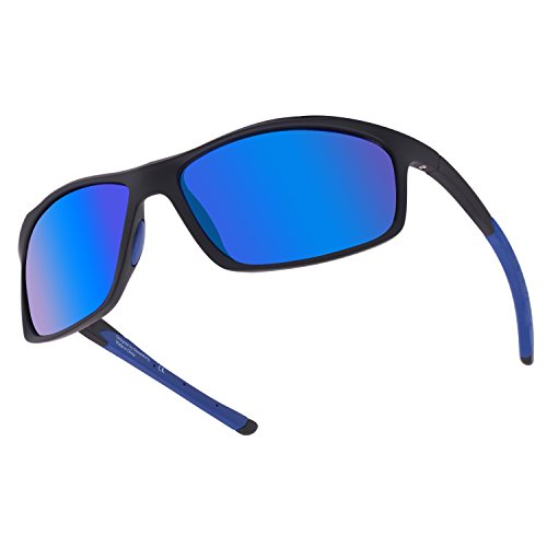 c77cfb0946 GLASSESKING Sports Sunglasses Eyewear UV400 Sports Sunglasses For Men Women  For Running Softball Cycling Fishing