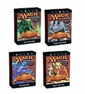 Magic the Gathering Scourge 4 Theme Deck Combo Pack