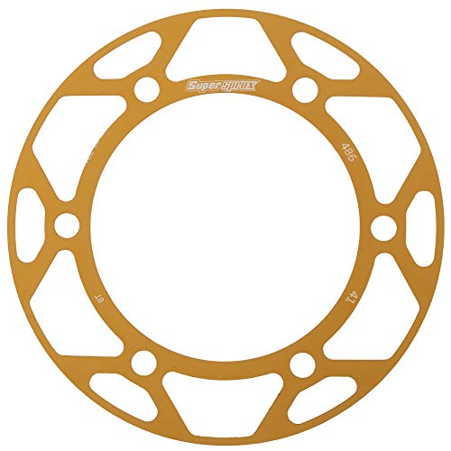 Supersprox Edge Color Disc Gold 41T-RACD-486-41-GLD for Supersprox Rear Sprocket Honda TRX200, TRX200D 90-97, Kawasaki EX250 Ninja, EX300 Ninja, EX300 Ninja ABS 13-17, EX500 Ninja 94-09, ZR550 90-93