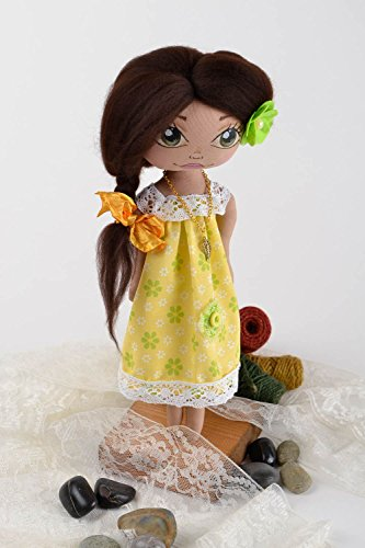 Soft Interior Toy Handmade Designer Rag Doll Interior Dec...
