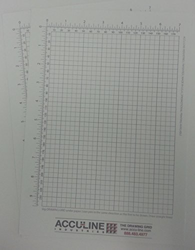 Accu-Line Drawing Grid 2 Pack