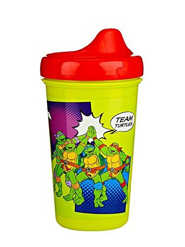 Gerber Graduates Nickelodeon Teenage Mutant Ninja Turtles Hard Spout Sippy Cup, 10-Ounce