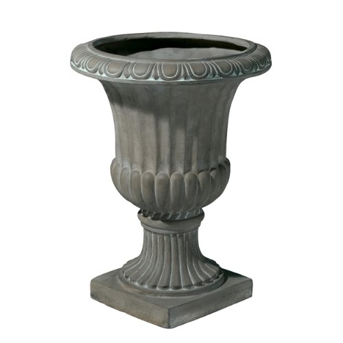 Italian Planter - Best-selling Antique Firenze Italian Urn Planter, 26-Inch, Green