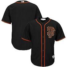 San Francisco Giants MLB Mens Majestic Cool Base Alternate Jersey Black Big & Tall Sizes