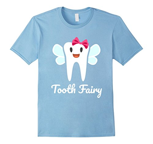 Mens Tooth Fairy Halloween Costume T-Shirt Small Baby Blue (Baby Fairy Halloween Costumes)