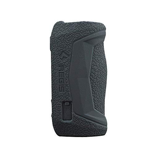 DSC-Mart Texture Case for GeekVape AEGIS Solo 100W Box Protective Silicone Rubber Sleeve Cover Shield Wrap Shield (Black)