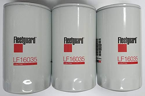 Fleetguard LF16035 Oil Filter for Dodge Ram Cummins Engines Diesel (Pack of 3) (Best Oil For Cummins 5.9 Engine)