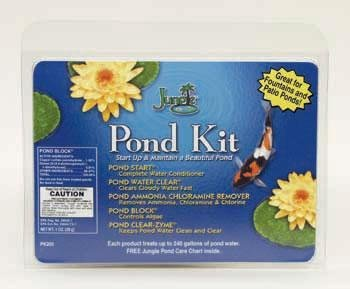 Jungle Fountain Block - Jungle Laboratories AJUPK200 Starter Kit Fountains and Patio Pond