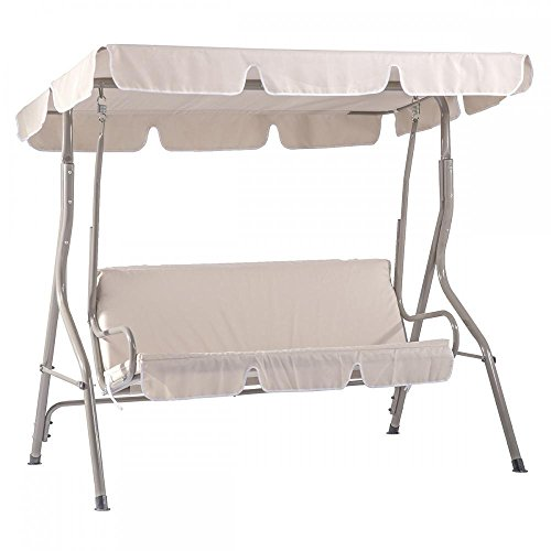 Glider Canopy (Swing Canopy Glider Patio Outdoor Porch Hammock Furniture Backyard Person 2-3 Seat Bench Chair Deck Garden Yard)