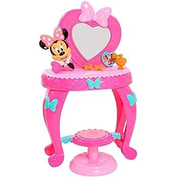 amazon com disney minnie bow tique bowdazzling vanity toys games