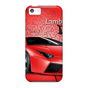 Excellent for iphone 5c Case Tpu Cover Back Skin Protector Lamborghini Reventon 4