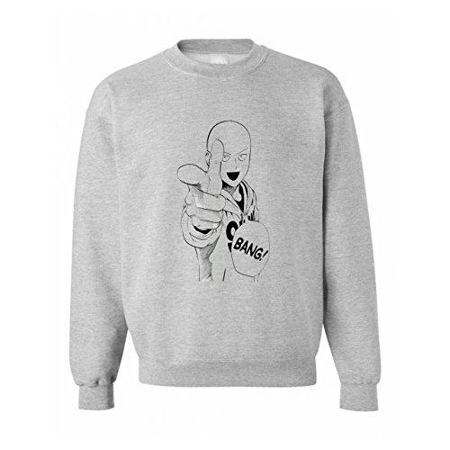 One Punch Man Saitana Bang Finger Image Unisex Sweater
