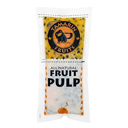 - Passion Fruit - All Natural Fruit Pulp frozen packs (4lbs) (Purple Passion Fruit)