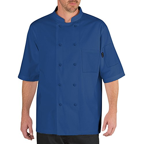chef coats blue - 6