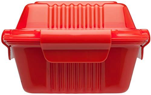 ALADDIN TAKE AWAY LUNCH BOX 0.35L (TOMATO)