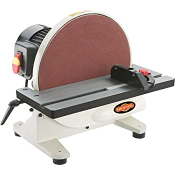 Image of Shop Fox W1828 12-Inch Disc Sander Home Improvements