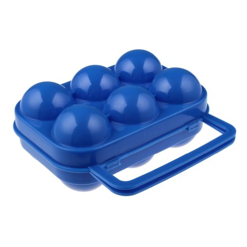 Water & Wood Portable Plastic Egg Storage Box Egg Carrier Container
