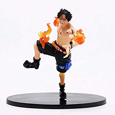 Fighting version of fire fist Ace, toy collection statue