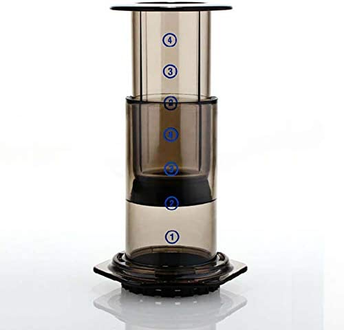 SYSWJ Kaffeemaschine Mini Handheld Espresso Tragbare Kaffeekanne Espresso Filter 350Er Espresso Filterpapier Kaffeemaschine , A