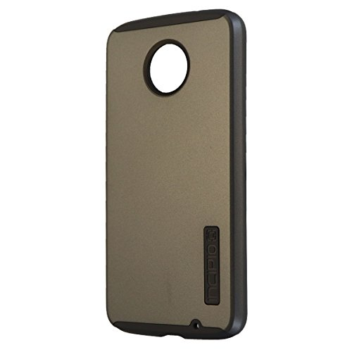Incipio DualPro Series Hard Case Cover for Moto Z Force - Iridescent Gray/Gray