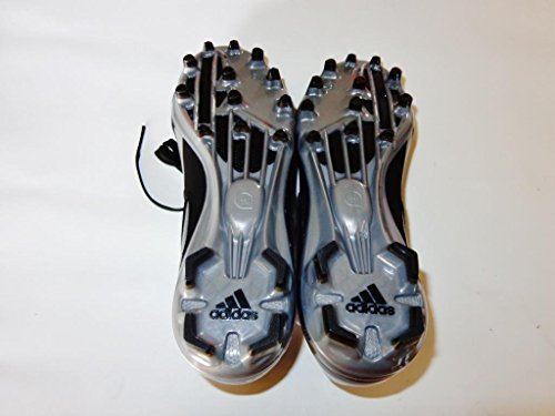 Adidas Filthy Quick Low Football Cleat (15, Black/Black/Titanium)