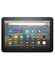"""All-new Fire HD 8 tablet, 8"""" HD display, 32 GB, designed for portable entertainment, Black"""
