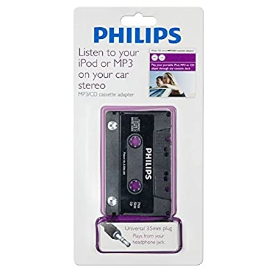 Philips SAA2050H/17 Cassette Adapter (Discontinued by Manufacturer)